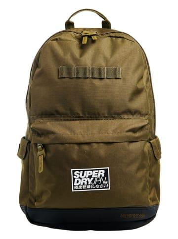 Superdry Plecak w kolorze oliwkowym