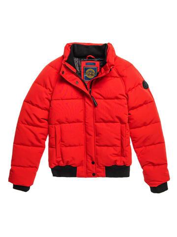 Superdry Winterjacke in Rot