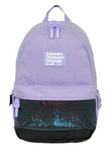 Superdry Plecak w kolorze fioletowym - 26 x 44 x 11 cm