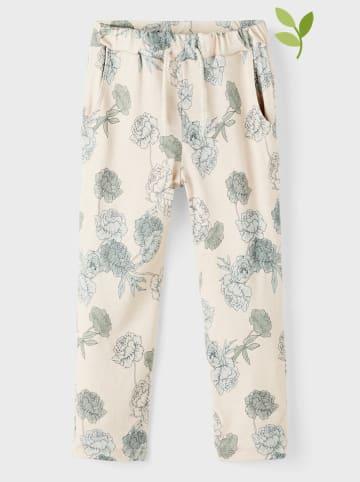 Name it Spodnie w kolorze kremowo-szarym