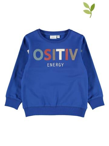 Name it Sweatshirt blauw