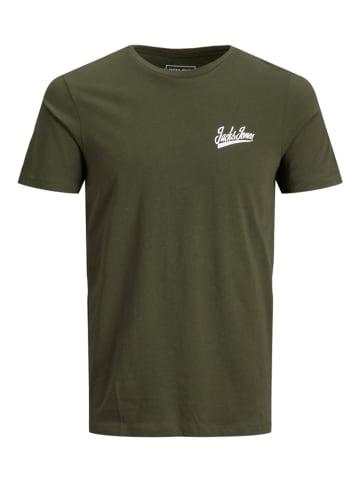 JACK & JONES Junior Koszulka w kolorze khaki