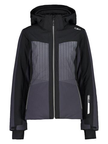 CMP Kurtka narciarska w kolorze szaro-czarnym