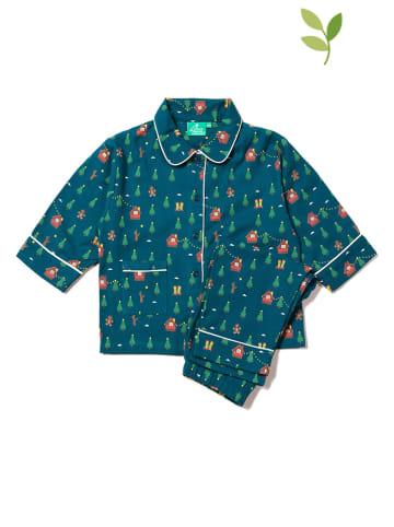 Little Green Radicals Pyjama donkerblauw