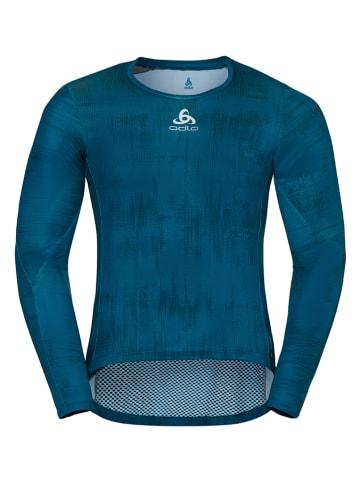 """Odlo Functioneel shirt """"Zeroweight Ceramiwa"""" donkerblauw"""