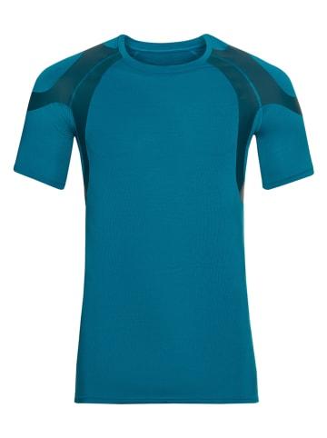 """Odlo Functioneel onderhemd """"Active Sspine Light"""" donkerblauw"""