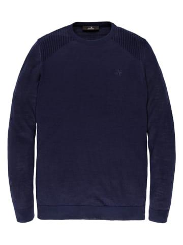 Vanguard Sweter w kolorze granatowym