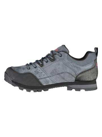 CMP Skórzane buty trekkingowe w kolorze szarym