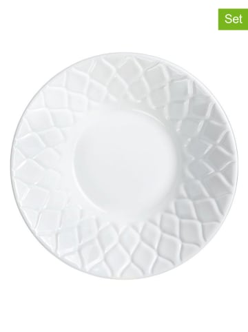 """Luminarc Miski (6 szt.) """"Amario"""" w kolorze białym - Ø 18 cm"""