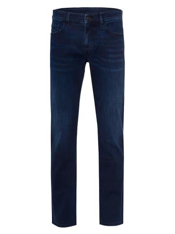 """Cross Jeans Spijkerbroek """"Antonio"""" - relaxed fit - donkerblauw"""