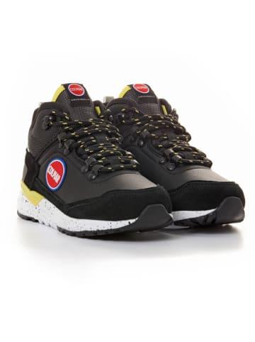 COLMAR Sneakers in Schwarz/ Gelb