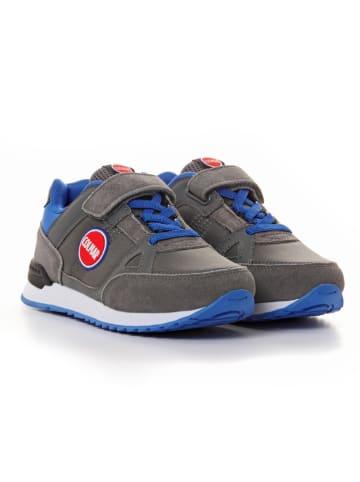 COLMAR Sneakers in Grau/ Blau