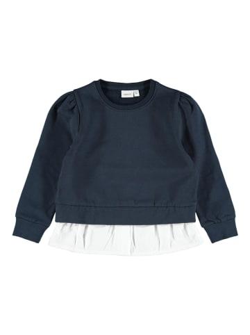 Name it Sweatshirt donkerblauw