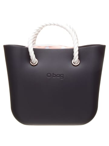 "O Bag Henkeltasche ""O Bag Mini"" in Schwarz/ Rosa - (B)29 x (H)31 x (T)12 cm"