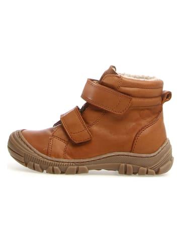 "Naturino Leder-Boots ""Radar"" in Cognac"