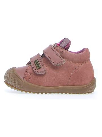 "Naturino Leder-Sneakers ""Brunt"" in Rosa"