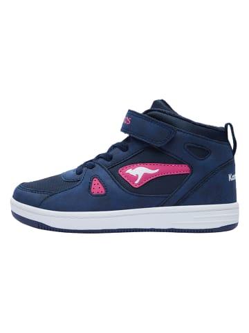 """Kangaroos Sneakers """"Kalley II EV"""" in Blau/ Pink"""