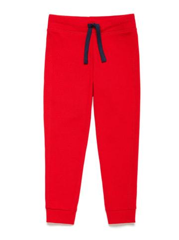Benetton Spodnie dresowe w kolorze czerwonym