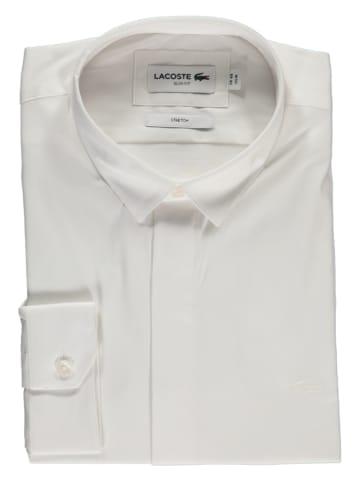 Lacoste Koszula - Slim fit - w kolorze białym