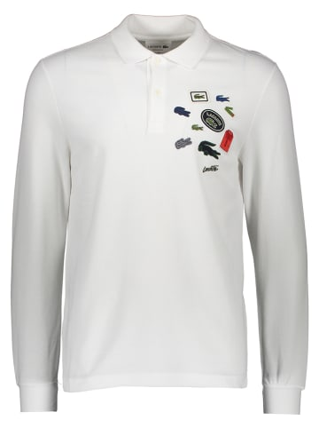 Lacoste Poloshirt wit