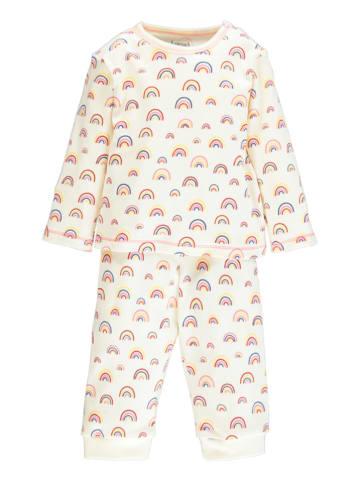 "Lamino Pyjama ""Rainbow"" crème/meerkleurig"