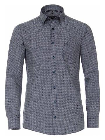 CASAMODA Koszula - Comfort fit - w kolorze granatowo-białym