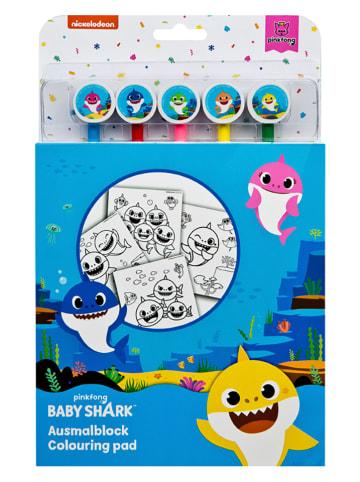 "Baby Shark Ausmalblock ""Baby Shark"" - ab 3 Jahren"