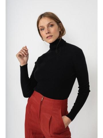"""Perfect Cashmere Kaszmirowy sweter """"Elly"""" w kolorze czarnym"""