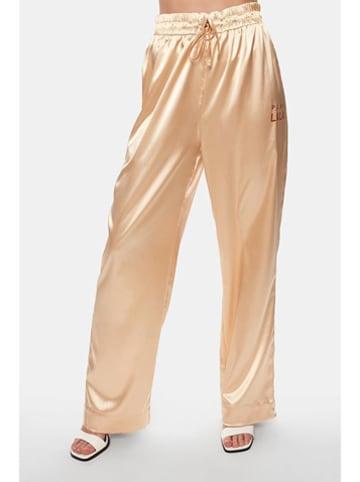 """PLNY LALA Spodnie """"Susan"""" w kolorze złotym"""