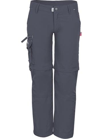 "Trollkids Zipp-Off-Trekkinghose ""Oppland"" - Regular fit - in Anthrazit"