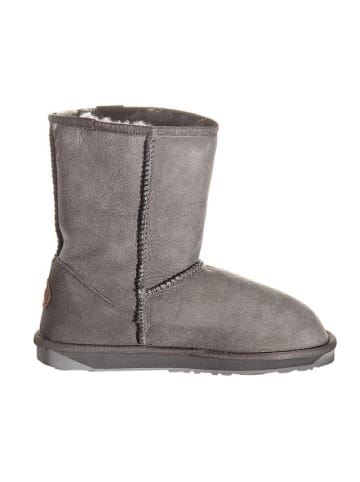 "EMU Leren boots ""Stinger Lo"" grijs"