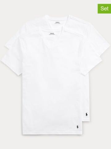 POLO RALPH LAUREN Koszulki (2 szt.) w kolorze białym