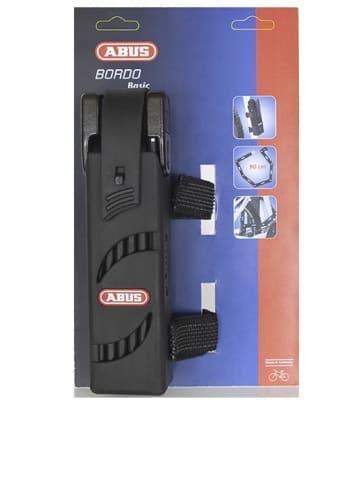 """ABUS Faltschloss """"5900/75 Bordo Basic"""" in Schwarz - (L)75 cm"""
