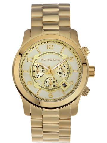 "Michael Kors Chronograph ""Runway"" in Gold"