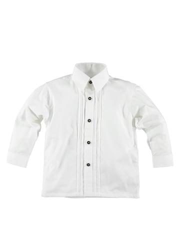 Isartrachten Trachtenhemd in Weiß