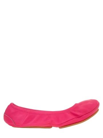 """Flip Flop Leder-Ballerinas """"Pure Ballet"""" in Pink"""