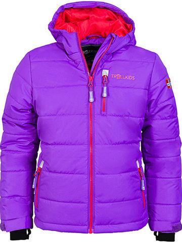 """Trollkids Ski-/snowboardjas """"Hemsedal"""" paars/rood"""