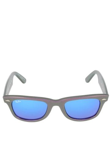 "Ray Ban Unisekszonnebril ""Wayfarer"" metallic-violet/blauw"