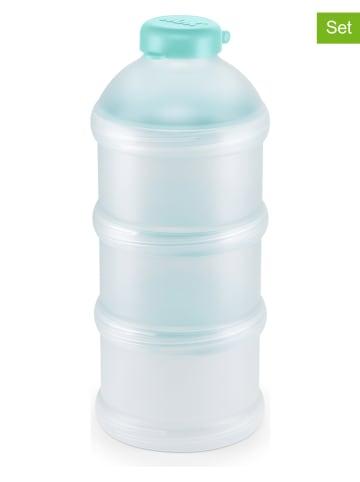 NUK 2er-Set: Milchpulver-Portionierer in Petrol