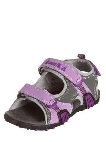 Kamik Sandały ''Crocodile'' w kolorze fioletowo-szarym