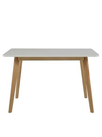 """AC Design Stół """"Raven"""" w kolorze jasnobrązowo-białym - 120 x 75,5 x 80 cm"""