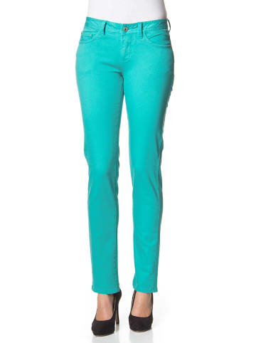 """Million X Dżinsy """"Victoria"""" w kolorze turkusowym"""