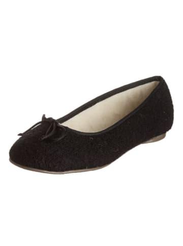 """Kitz-pichler Pantoffels """"Ballerina"""" zwart"""