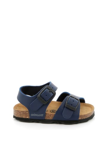 Grünland Sandalen donkerblauw