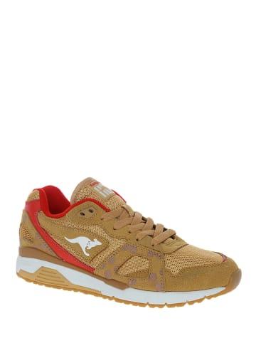 """Kangaroos Sneakers """"Future"""" in Hellbraun"""