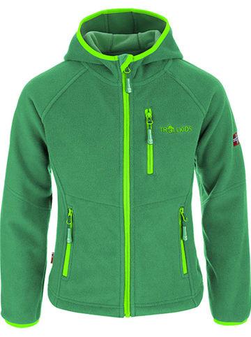 Trollkids Kurtka polarowa ''Stavanger'' w kolorze zielonym