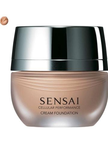 "SENSAI Foundation ""Cellular Performance Cream - 23 Almond Beige"" - SPF 15, 30 ml"