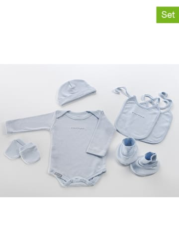 NAF NAF enfant 6-delige set voor een pasgeborene lichtblauw