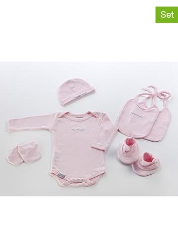 NAF NAF enfant 6-delige set voor een pasgeborene lichtroze