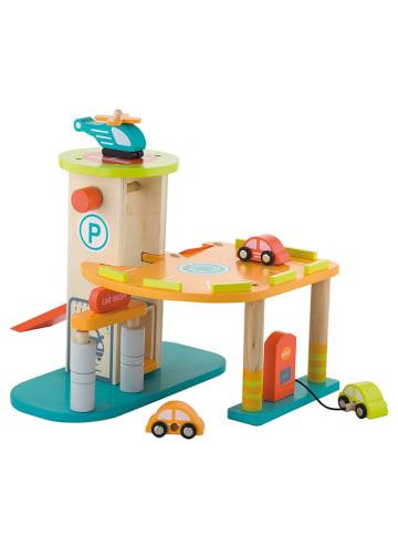 Andreu Toys Parkeergarage met accessoires - vanaf 3 jaar